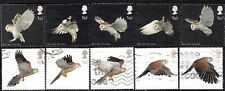 2003 Sg 2327/36 Birds of Prey Used Set of 10