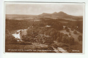 Sir Walter Scotts Favourite View From Bemersyde Hill St Boswells 1914 Real Photo