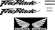 CBR  Fireblade 900RR 919 929 Replacement decals stickers graphics kit RR 954