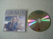 GRACE Hell Of A Girl (UK Radio Edit) promo CD single