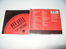 The Bee Gees The Record (Their Greatest Hits) 42 Tracks  2 cd Ex Condition