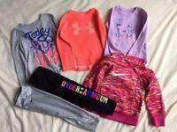 Toddler Girl Under Armour Outfit Nike Adidas Lot Size 3T Shirt Pant Sweatshirt