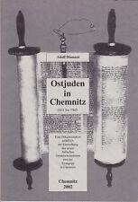 Ostjuden in Chemnitz 1811 bis 1945, eine Dokumentation