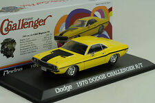 1970 Dodge Challenger R/T Scat pack yellow gelb 1:43 Greenlight