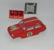 FN JOUEF  SLOT CAR CARROCERIA RENAULT 5 ROJO EXCELENT CONDITION UNBOXED