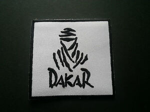 Dakar Rally Sew or Iron On Patch