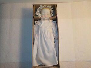 Vintage Shackman Handmade Antique Replica Bisque Baby 10 Inch Doll