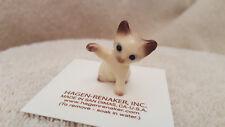 Hagen Renaker Cat Kitten Paw Up Siamese Figurine Miniature Free Shipping 04033