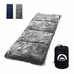 """Sleeping Cot Pads 75"""" x 29"""" Portable for Camping & Hiking with Elastic Straps..."""