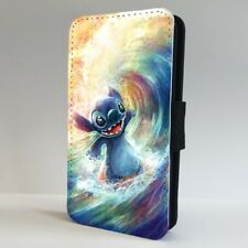 Disney Lilo Stitch Surfing Ocean Wave FLIP PHONE CASE COVER for IPHONE SAMSUNG