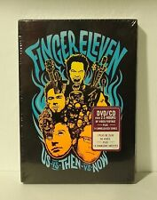 Finger Eleven - Us Vs Then Vs Now (DVD, 2007, 2-Disc Set) NEW with SLIPCOVER