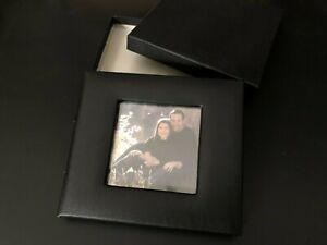 WEDDING ANNIVERSARY BIRTHDAY DVD CASE - Album Portfolio Photo Holder Black