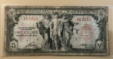 1935 $5 five dollars Canadian Bank of Commerce