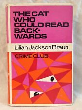 Lilian Jackson Braun - The Cat Who Could Read Backwards - 1st/1st 1967 in Jacket