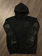 XO The Weeknd Hoodie Black on Black