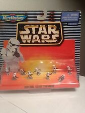 1990's Star Wars Micro Machines Imperial Scout troopers lot
