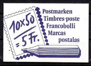 Schweiz, Michel Nr. 0-84 (Markenheftchen) postfrisch.