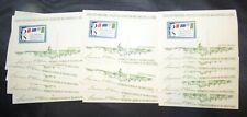 Group of 18 5c SIPEX Commemorative Souvenir Sheets Scott #1311 MNH