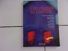 DES PLUMES AU COURANT recueil de nouvelles de Fajardie, Nothomb, Frain Queffelec