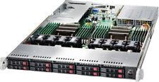 UXS Server Supermicro 10 Bay X10DRU-i+ SATA3 2x Xeon E5-2680 V3 Quad 10BaseT NiC