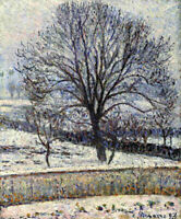 Camille Pissarro Thaw Art Canvas Painting Print Poster Office Decoration 8x10