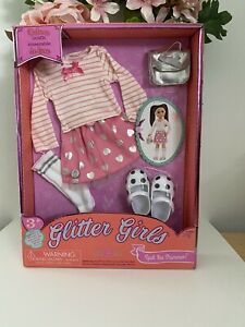 "BATTAT Glitter Girls14"" Doll Clothes ""Spot the Shimmer ""FITS Toddler Wellie NIB"