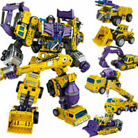 IN STOCK NBK Devastator Transformation Oversize Action Figure