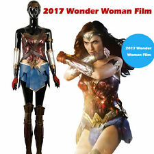 New Version Justice League Wonder Woman Cosplay Costume Diana Prince Nanosuit