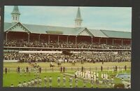 Unused Postcard Derby Day Horses at Churchill Downs Lousiville Kentucky KY