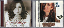 Simple Things by Amy Grant (CD, 2003) & Lead Me On by Amy Grant (CD, 1990);2 CDs