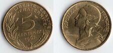 TRES RARE DE CETTE QUALITE MONNAIE DE 5 CENTIMES LAGRIFFOUL DE 1967 SUPERBE+++ !
