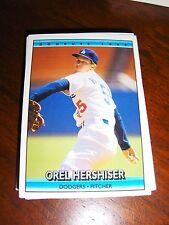 DODGERS 1992 DONRUSS 30 CARD TEAM SET HERSHISER, MURRAY, CARTER, KARROS +