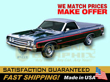1969 Ranchero GT Reflective Decals & Stripes Kit