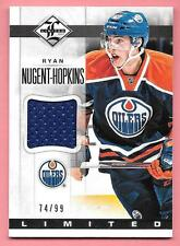 12/13 Panini Limited Materials #NH Ryan Nugent-Hopkins Jersey #74/99