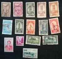 lot N°85 - 15 timbres MAROC
