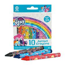 New 10ct My Little Pony Jumbo Crayons