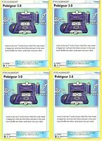 Pokemon Trainer Set - Promo Pokegear 3.0 - Unbroken Bond - 182b/214 - Lot x4