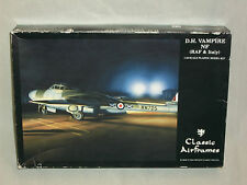 Classic Airframes 1/48 Scale D.H. Vampire, NF Night Fighter