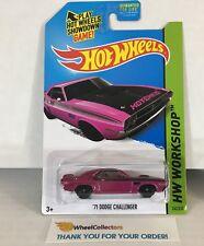'71 Dodge Challenger # 242 * Purple Kmart * 2014 Hot Wheels * WG4