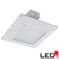 Ultra-Thin Dimmable Recessed 150W LED Canopy Light Fixture for Gas Station 5000K