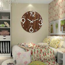 Glow In The Dark Clock Wall Hanging Design Silent Luminous Fancy Home Decor Gift