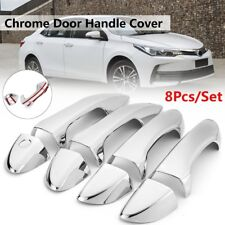 8Pcs Chrome Door Handle Cover Trim For Toyota Corolla 2014 2015 2016 2017 2018