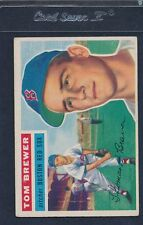 1956 Topps GB #034 Tom Brewer Red Sox VG/EX 56T34-91715-4
