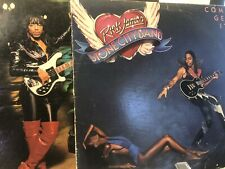 RICK JAMES LOT  OF (2) LPS PREOWNED  come and get it and  street songs