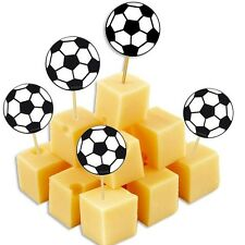 Fussball Picker, zur Fußball-Party, Deko Picker, 20er Pack, 7cm