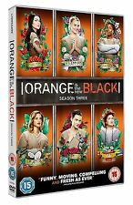 Orange Is The New Black Complete Series 3 DVD All Episodes Third Season UK NEW