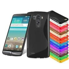 TPU S-LINE Cover Bumper Silicone GEL Case for LG Hard Skin Rubber