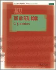 The AB Real Book C Treble Clef Edition ABRSM Sheet Music Book Lead Sheets