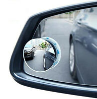 BLIND SPOT MIRROR Towing Reversing Driving SELF-ADHESIVE Car Van Bikes x2