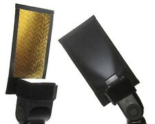 NEW Honl HonlPHOTO Speed Gobo HONL-GOBO-GS Gold-Silver/Black for hotshoe flash